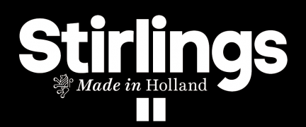 Logo stirlings made in holland