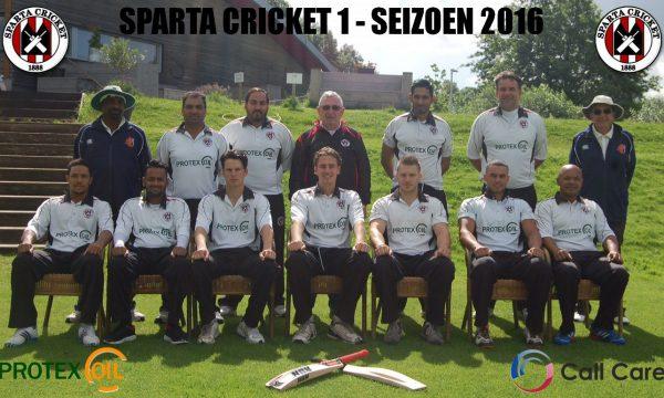 Sparta 1 in de tweede fase van de Hoofdklasse