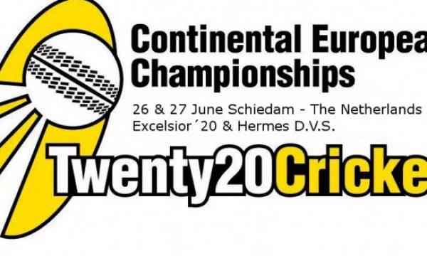 Martijn Snoep met KNCB XI in Continental T20