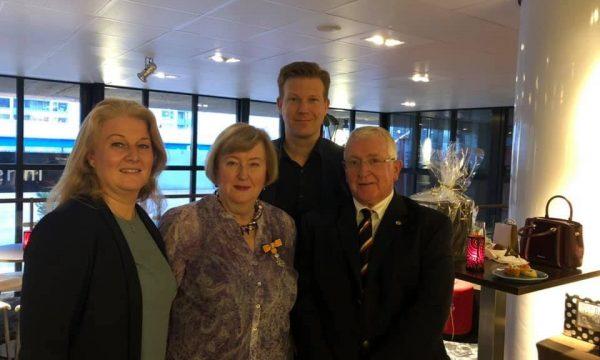Oud-voorzitter Hetty Tovey-Steens geridderd