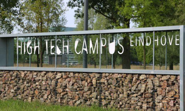 High Tech Campus decor eerste oefenduel